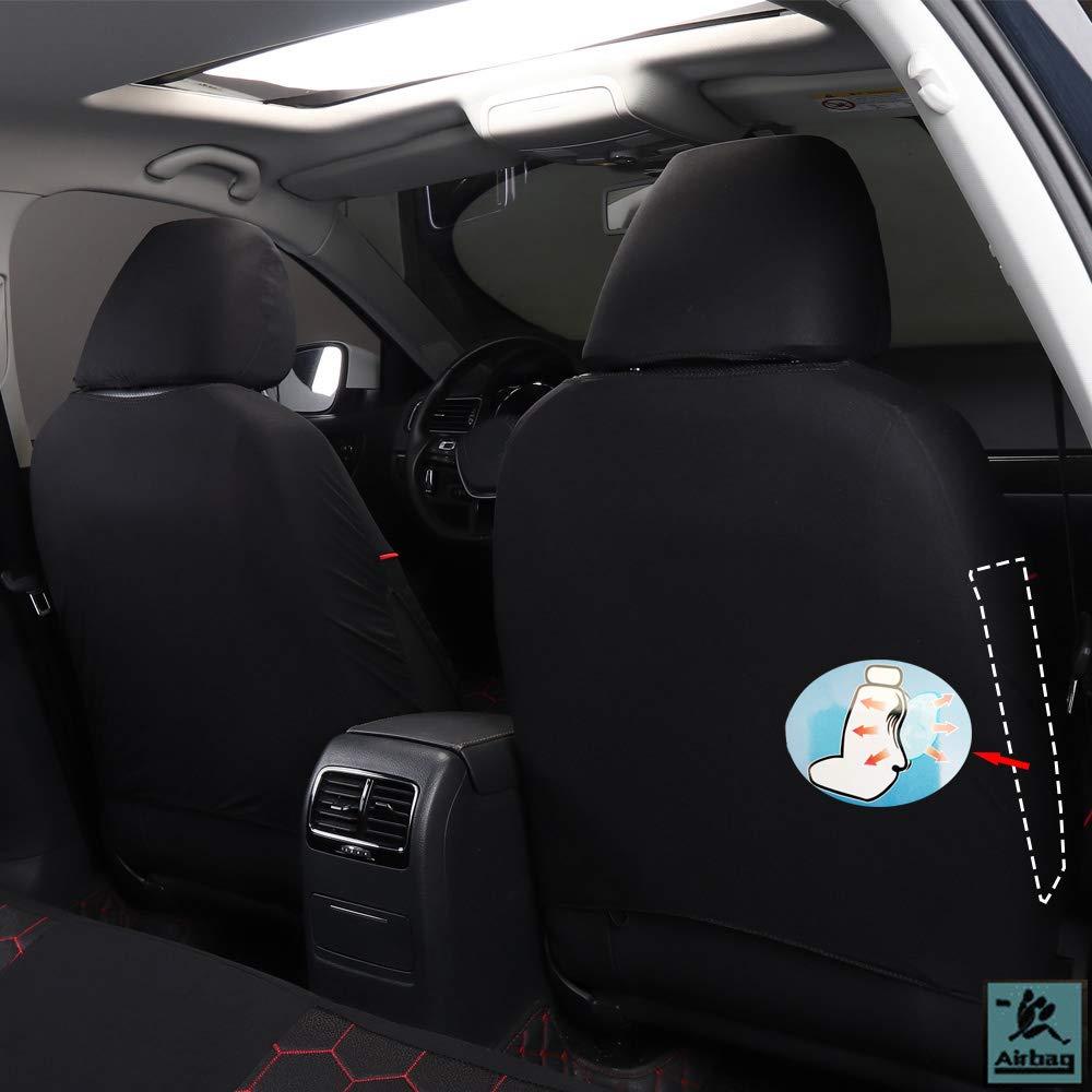 Autositzbez/üge Polyster Front /& Rear Seat Chair Protector Zubeh/ör F/ür Juke Micra Navara D40 Qashqai J10 J11 Terrano 2 X-Trail T31 T32 306 307 308 508 4007 508 Sw