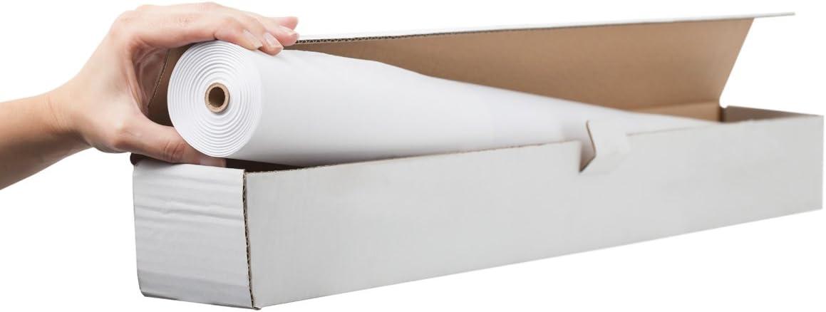 Bi-Office - Rollo de Papel blanco para Rotafolios, 35 m: Amazon.es: Oficina y papelería