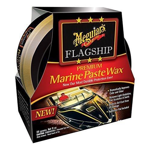 Premium Paste (Meguiar's M6311 Flagship Premium Marine Wax Paste - 11 oz. by Meguiar's)