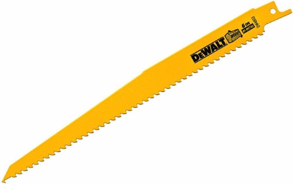 Black & Decker/DWLT DW4803B25 Bimetal Reciprocating Blade (Pack of 25)