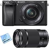 Sony Alpha a6300 Mirrorless Digital Camera w/16-50mm/3.5-5.6 & E 55-210mm/4.5-6.3 OSS E-Mount Lens