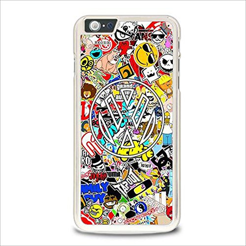 Coque,Vw Sticker Bomb Case Cover For Coque iphone 6 / Coque iphone 6s