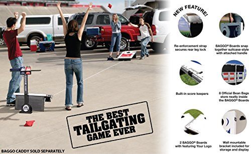 Baggo 1545 University of Iowa Hawkeyes Complete Baggo Bean Bag Toss Game by Baggo (Image #2)'