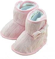 CdyBox Little Baby Fleece Fur Knit Snow Boots Infant Warm Winter for 0-18 Months