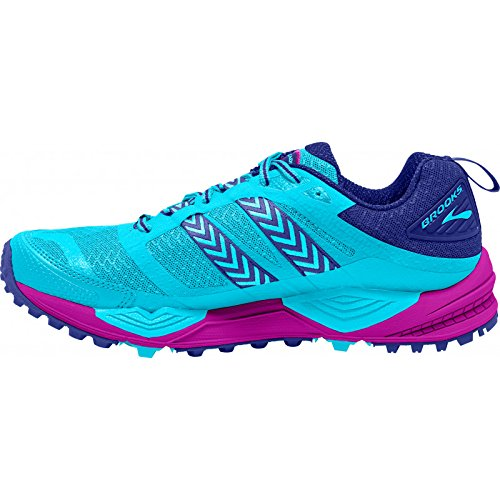 Brooks Shoes Clearwater Purple 12 Bajablue Blue Running WoMen Cascadia Trail Paradisepink xqxgaR