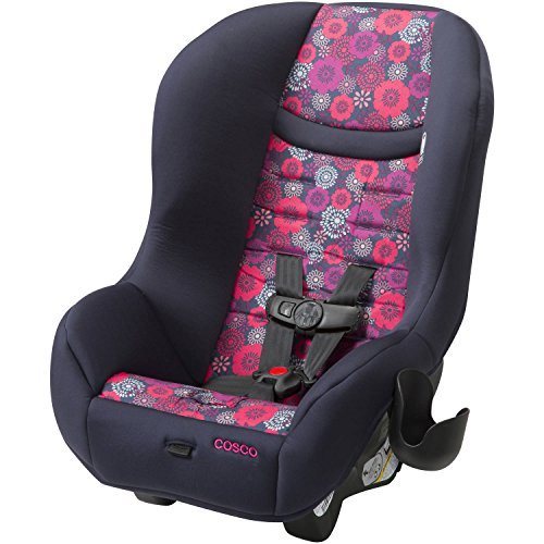 Cosco Scenera Next Convertible Baby Toddler Car Seat in Blossom Navy