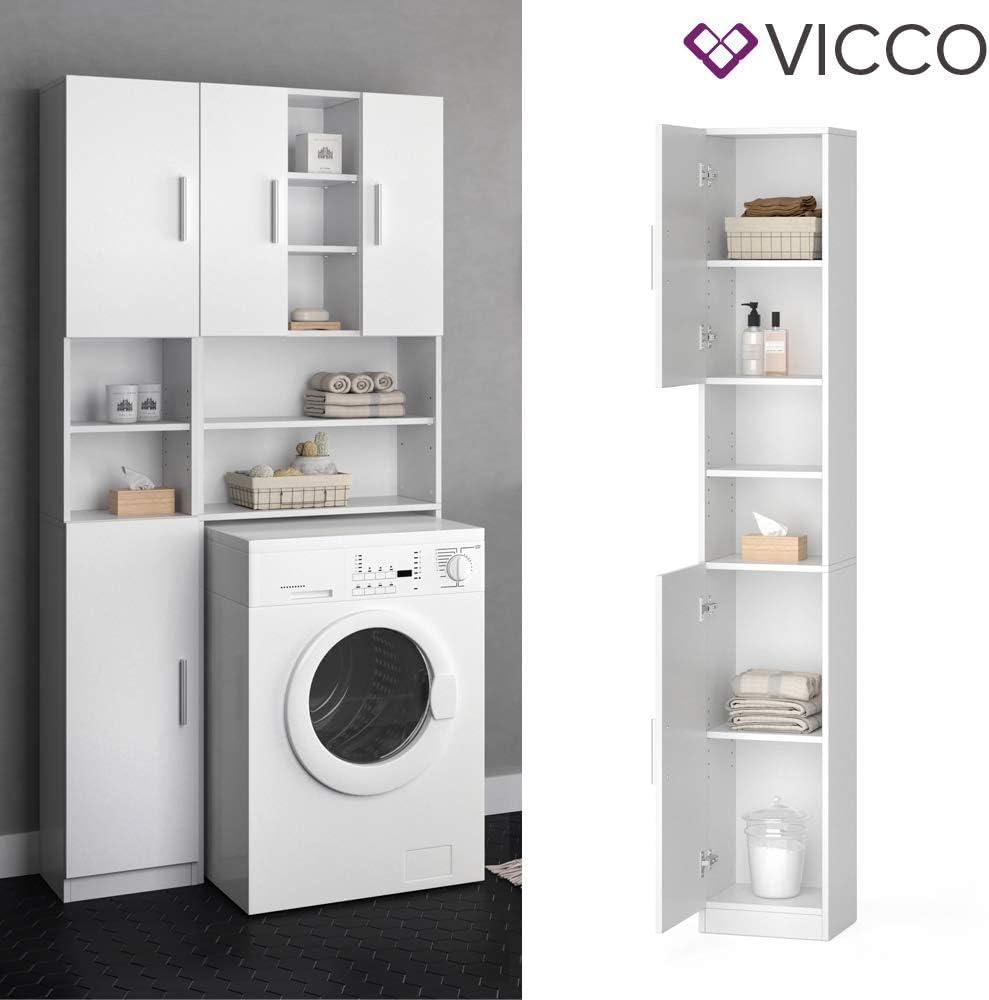 Vicco Anstellschrank Luis Waschmaschinenschrank Badmobel