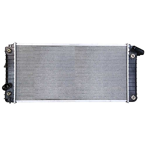 (Prime Choice Auto Parts RK589 Aluminum Radiator )