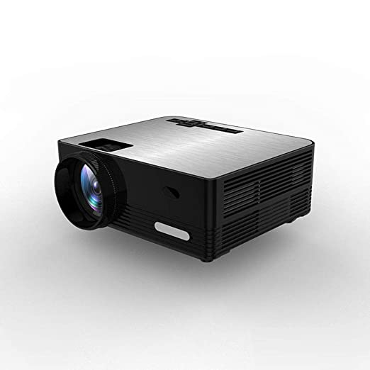 JJJ Mini Proyector LED Portátil Proyector con 1080P Y 130 Pulgadas ...