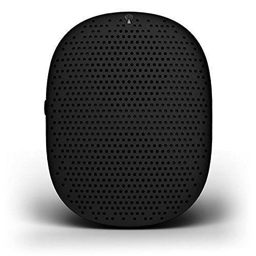 iSound Popdrop Rechargable Wireless Bluetooth Speaker, Black (Non-Retail Packaging)