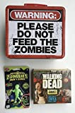 3 Item Walking Dead Bundle - 1-Zombie Lunchbox and 1-2016 Walking Dead Desk Calendar and 1 Grow and Glow Zombie