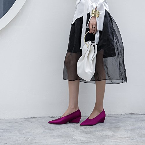 Talon Chaussures Fête Haut 38 Plateforme Escarpin Mariage Purple Femme Talons WSXY KJJDE Jane 07 Soiree Club Mary Hauts Basique qHFzwWPxt