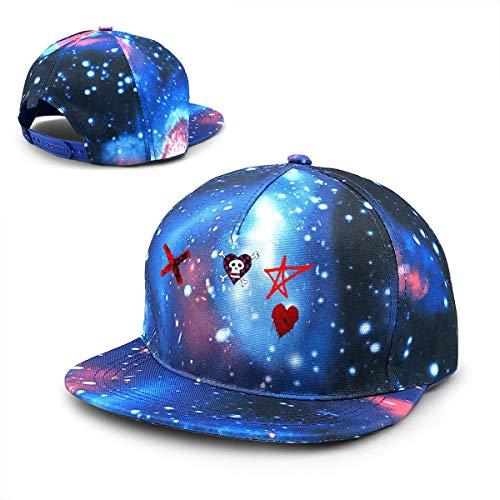 Twocjlrq Avril Lavigne Comfortable Unisex Adult Adjustable Snapback Baseball Cap Blue