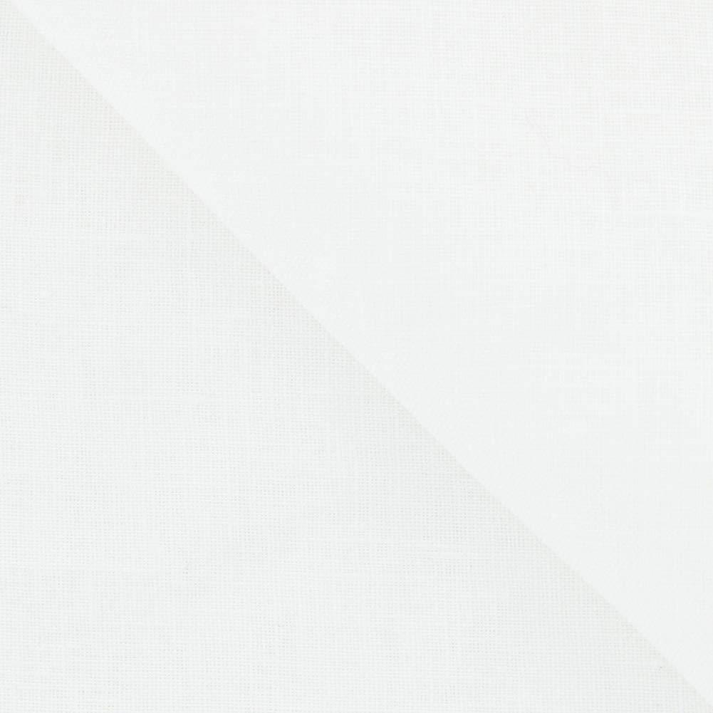 New Fiori Di Lusso White Geometric Pocket Square x 12