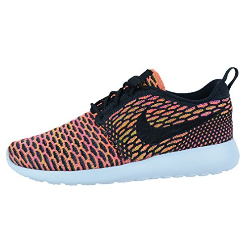 Nike Roshe One Flyknit Women-Sneaker in Green 704927 301 negro