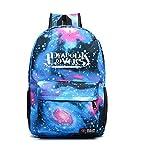 YOYOSHome Luminous Anime Diabolik Lovers Cosplay Daypack Bookbag Laptop Bag Backpack School Bag (blue)