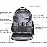 mommore Diaper Backpack Wash-Free Diaper Bag