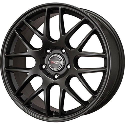 x8/ 5x120 et38 Flat Black Full Mesh rims (Drag Dr 19 Black Wheels)