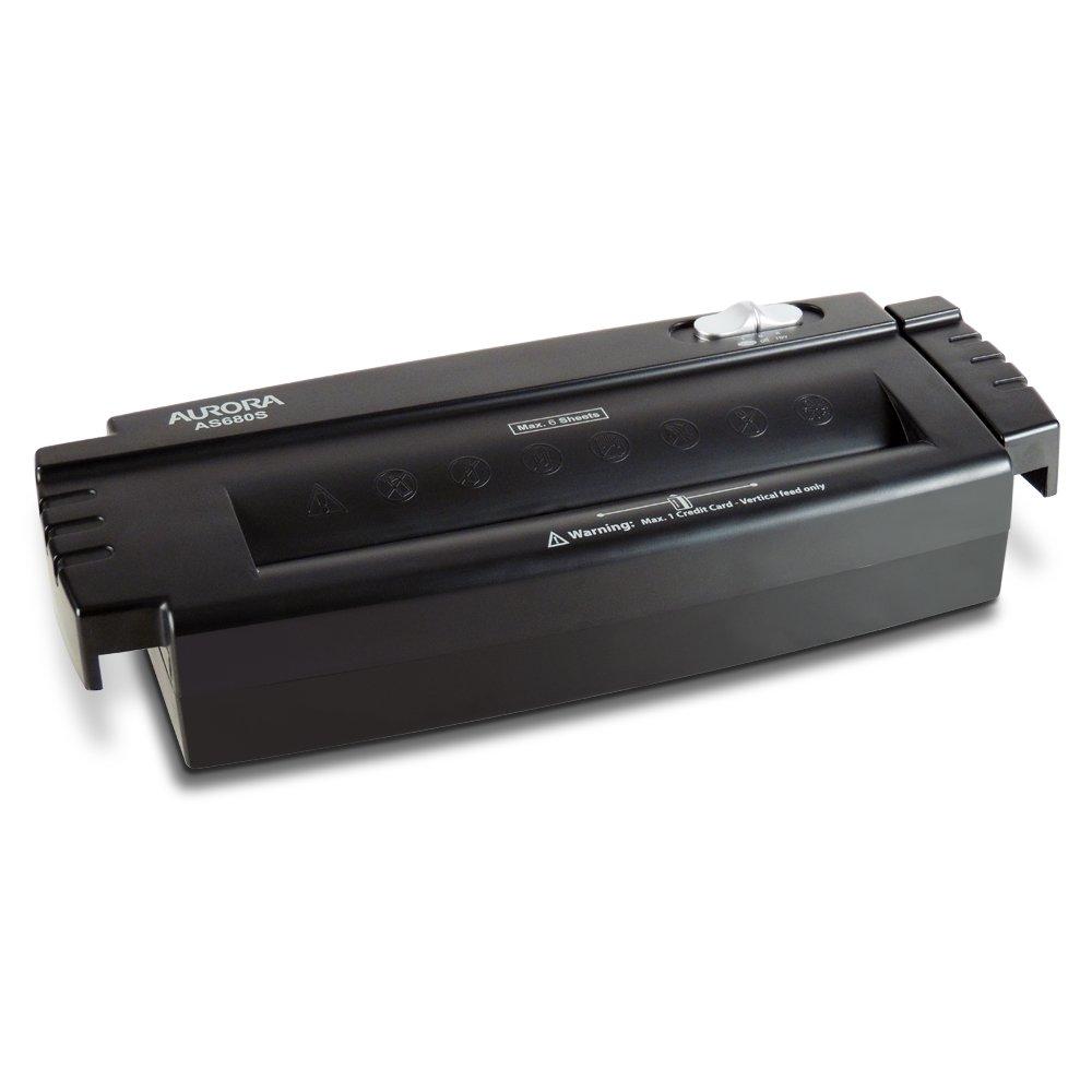 Aurora AS680S Professional Light Duty Strip Cut Paper Shredder Without Wastebasket