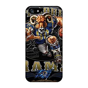 IanJoeyPatricia Iphone 5/5s Excellent Cell-phone Hard Covers Provide Private Custom Realistic St. Louis Rams Series [Pfe20128NfAT]