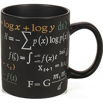 Amazon Mathematical Formulas Coffee Mug Ponder Famous Math