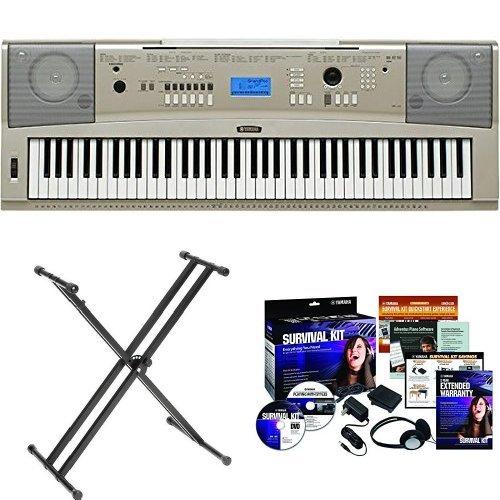 yamaha-ypg-235-portable-grand-piano-bundle-with-double-x-stand-and-yamaha-survival-kit