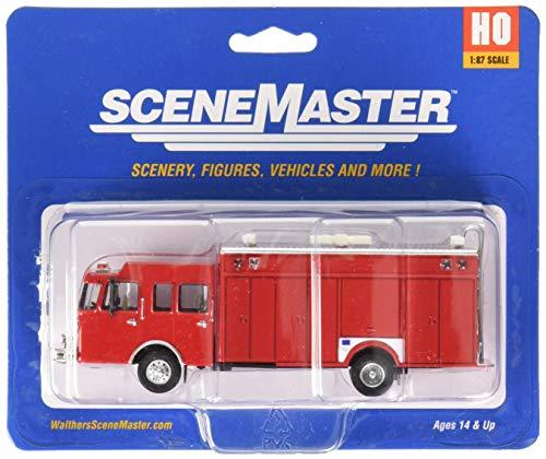 Walthers SceneMaster Haz Mat Fire Truck