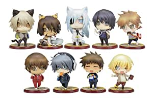 Togainu no Chi Lamento: Sweet Pool Chiral Gakuen 1st Period One Coin Mini Figures (Display of 10) (Beyond the Void) (japan import)