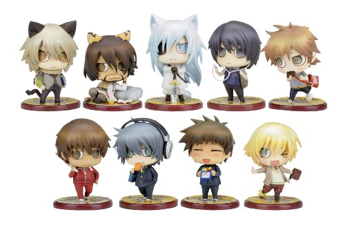 Togainu no Chi Lamento: Sweet Pool Chiral Gakuen 1st Period One Coin Mini Figures (Display of 10) (Beyond the Void)