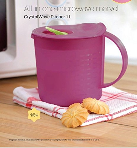 (Tupperware Crystal Wave Pitcher 1L)