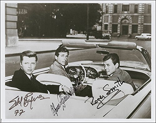 77 Sunset Strip Tv Cast - Photograph Signed with co-signers