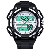 MISSKERVINFENDRIYUN Men's Multifunction Sports Outdoor Digital Watch With Waterproof Digital And Analog Display