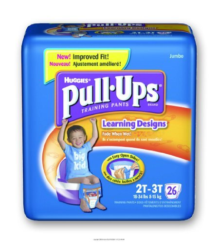 Huggies Pull-Ups - Training Pants, Huggies Pullup Trnpnt 2T-3T, (1 CASE, 104 EACH) by Kimberly Clark by Kimberly-Clark