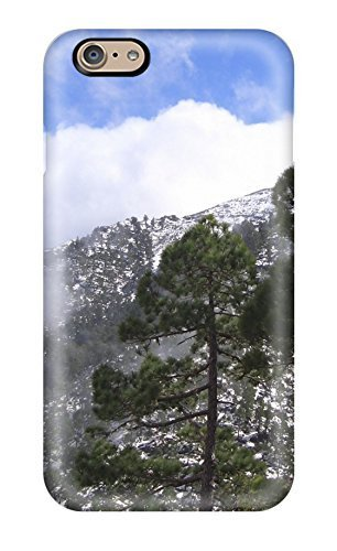 Ruby Diy Iphone 6 case cover, Premium protective case cover With Awesome Look - Montana Earth Winter TR480WO7YX7 Nature Winter