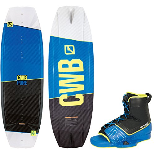 CWB Pure Wakeboard Mens 141cm + CWB Bindings Sz L/XL (9-12)