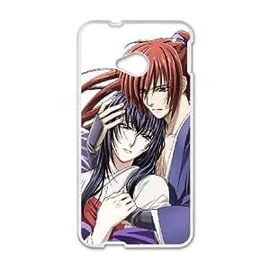 Himura Kenshin HTC One M7 Cell Phone Case White pvko