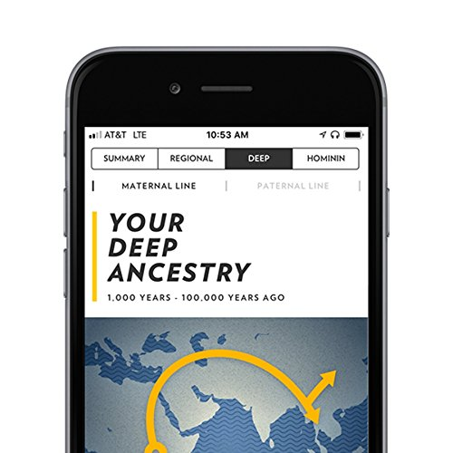 National Geographic DNA Test Kit: Geno 2.0 Next Generation (Ancestry) - Powered by Helix
