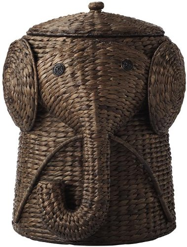 Animal Bathroom Hamper, 27.5''Hx20.5''Wx2, BROWN by Home Decorators Collection