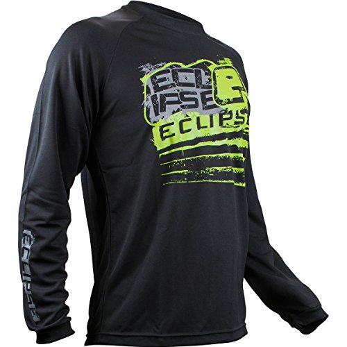 - Planet Eclipse T-Shirt - Brawler Long Sleeve - Black - X-Small