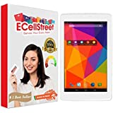 ECellStreet Tempered Glass Toughened Glass Screen Preotector For iBall Slide Nimble 4GF Tablet
