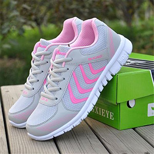Shoes Breathable Women Fashion New Fast Shoes Delivery Dark amp;LOVE KISS 2018 Gray Sneakers Casual Arrivals xSf88z