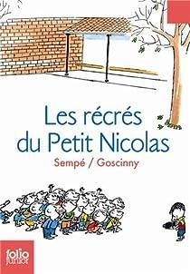 Les Récrés du petit Nicolas par Goscinny
