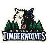 Official Minnesota Timberwolves Logo Large Sticker Iron On NBA Basketball Patch Emblem