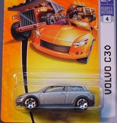 Matchbox Volvo C30 Car (Silver) Like Edward Cullen's in Twilight ()