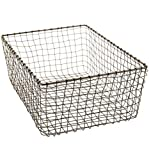 MD Group Rectangular Wire Basket, 5.88'' x 16.5'' x 9 lbs