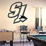 Wall Mural Vinyl Sticker Sports Logos Nhl-san Jose Sharks (S583)