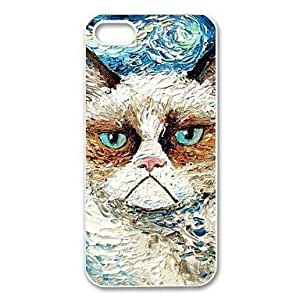 Generic Cute Grumpy Cat Hardshell Cell Phone Cover Case for iPhone 6 Plus (5.5 Inch Screen)