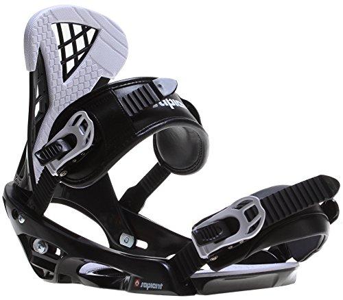 Sapient Wisdom Snowboard Bindings Black/White Mens Sz M/L (8 12)