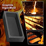 TOAUTO Graphite Ingot Mold,170ML Large Compacity