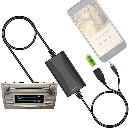 2004 Toyota Avalon Stereo ([New Generation] Car Stereo AUX Input Adapter Auxiliary MP3 Kit USB Charger for Toyota Camry Corolla RAV4 Tacoma Highlander Sienna Tundra 4Runner Prius Avalon Yaris, Lexus RX ES GS, Scion tC xA xB xD)